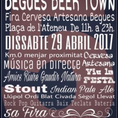 Cartel de la Feria de la Cerveza Artesana.