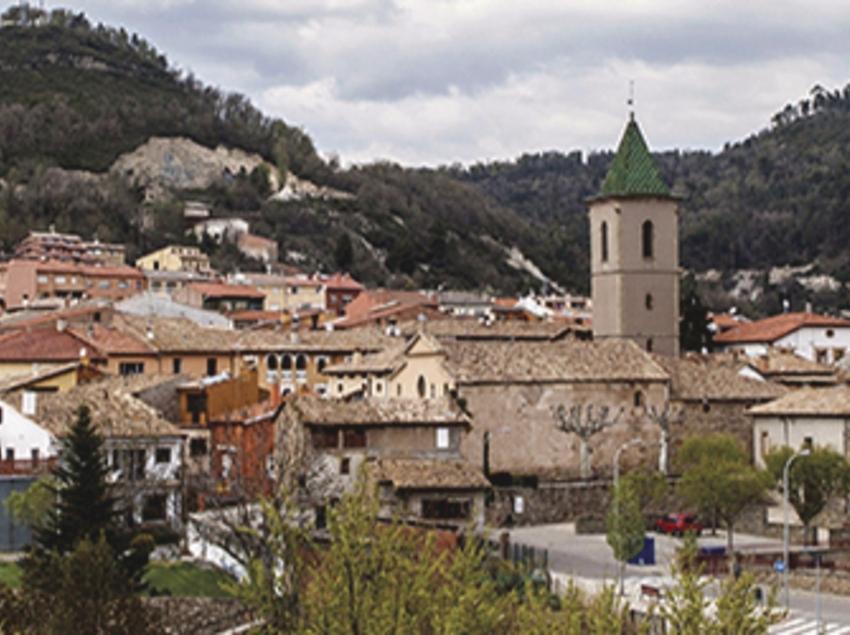 Vista general de Santa Eulàlia de Riuprimer.