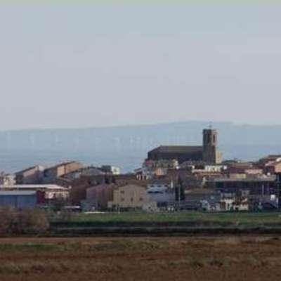 Vista general del poble.