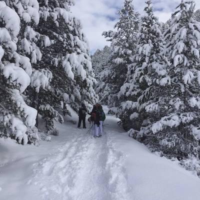 Ruta per la neu amb Som Riu