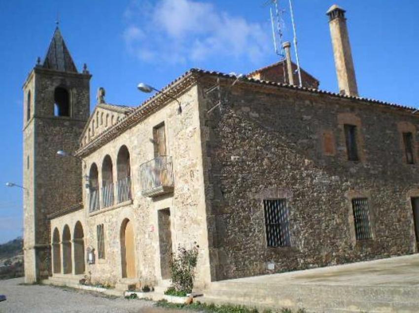 Vista parcial del poble.