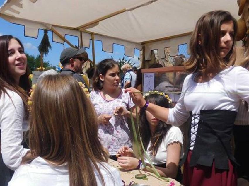 Feria de oficios artesanales.