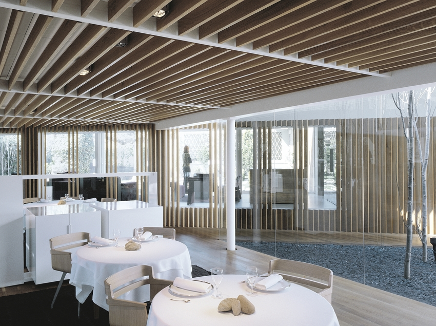 Sala del restaurante el Celler de Can Roca