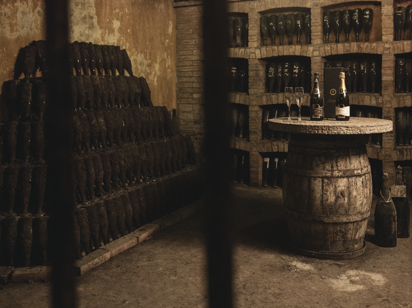 Cava històrica del Celler Gramona