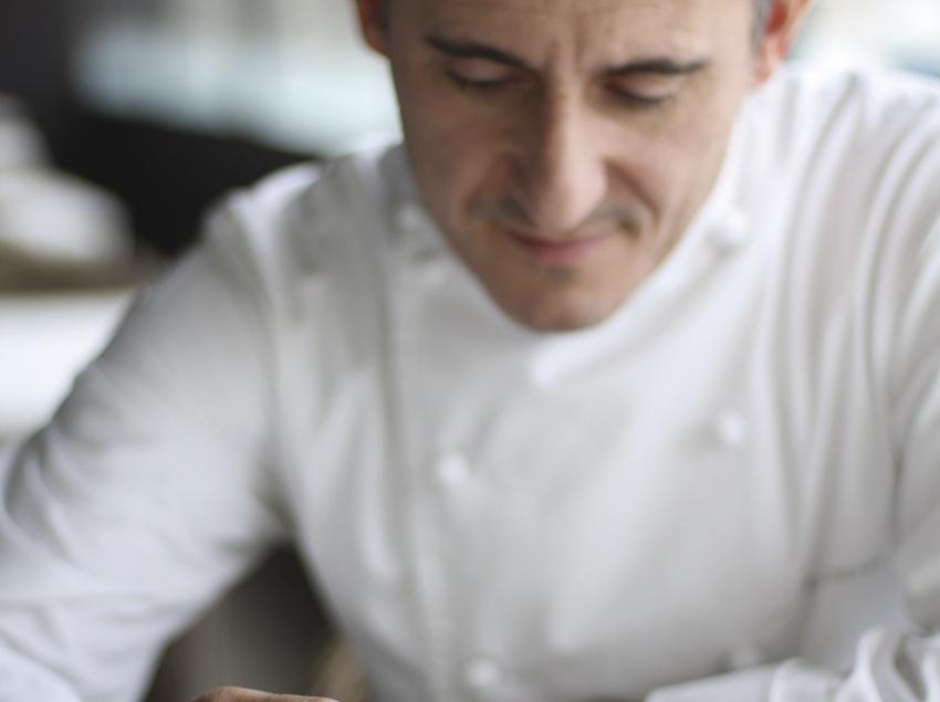El cuiner Paco Peréz a Girona Territori d'Estrelles
