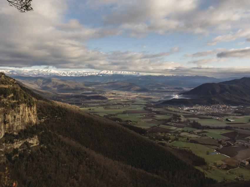 Paisaje panoràmico des de las montañas
