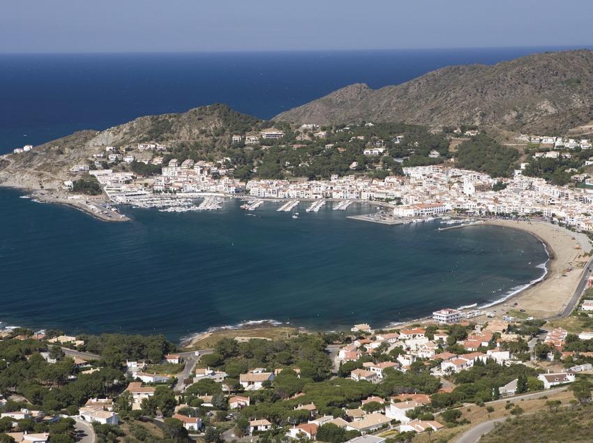 Panoramique aérien de la localité.  (Nano Cañas)