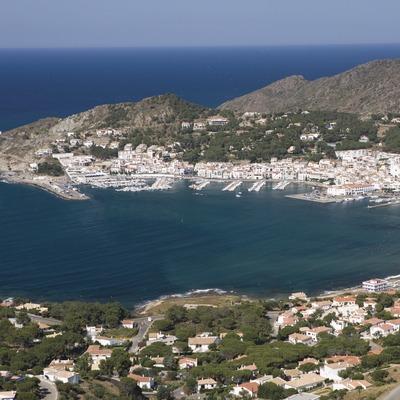 Luftansicht der Ortschaft  (Nano Cañas)