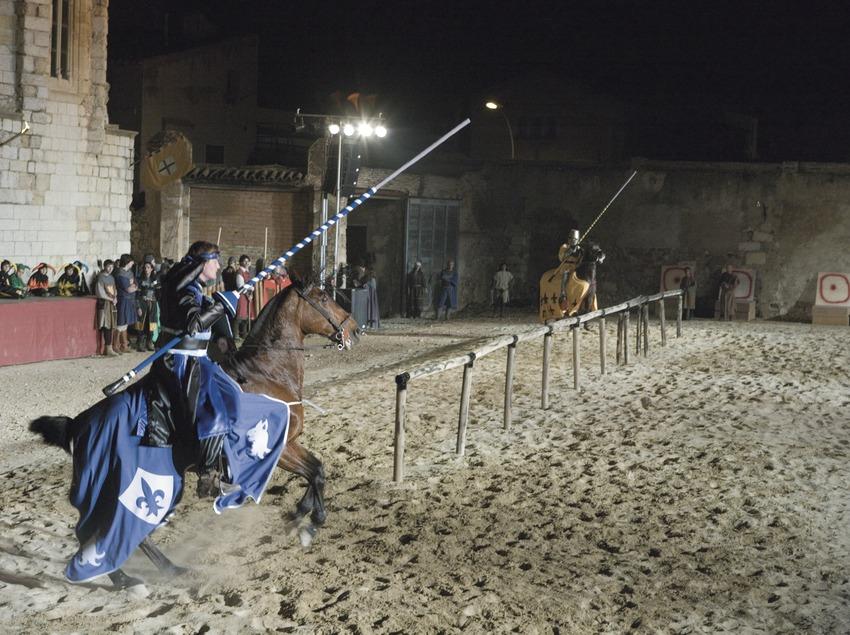 Juegos medievales en la Semana Medieval.  (Oriol Llauradó)