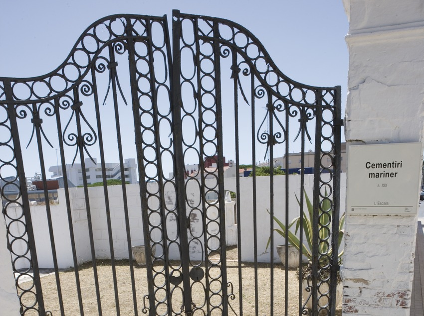 Porta d'entrada del Cementiri Vell.  (Nano Cañas)