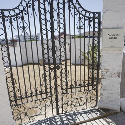Puerta de entrada del Cementerio viejo.  (Nano Cañas)
