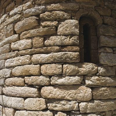 Detalle del ábside de la iglesia de Sant Climent.  (Nano Cañas)