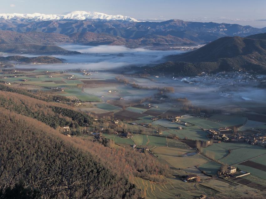 Panoramique de la vallée
