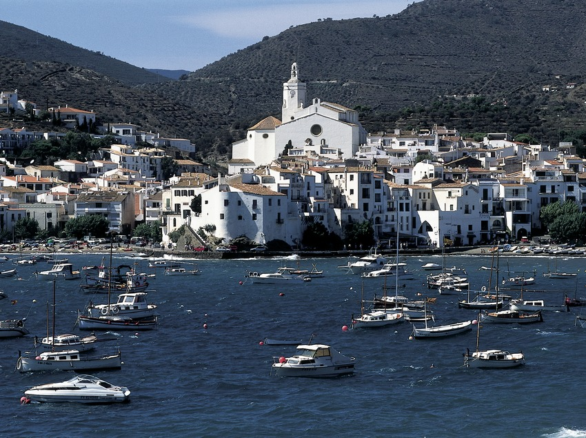 General view of the town of Cadaqués