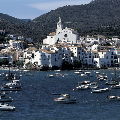 Vue générale du village de Cadaqués