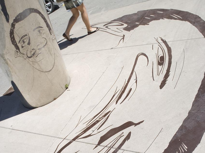 Monument à Salvador Dali.  (Nano Cañas)