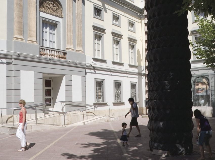 Façade of the Dali Theatre-Museum.