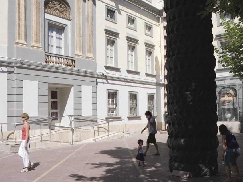 Façana del Teatre-Museu Dalí.