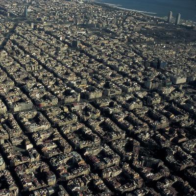 Vista aèria de la ciutat.