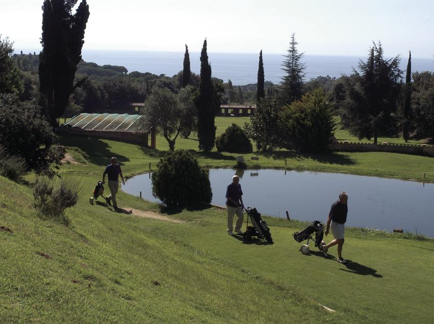 Vue générale du club de golf Llavaneras  (Marc Ripol)