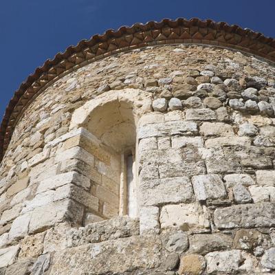 Abside de l'ancienne église paroissiale Sant Pere.  (Nano Cañas)