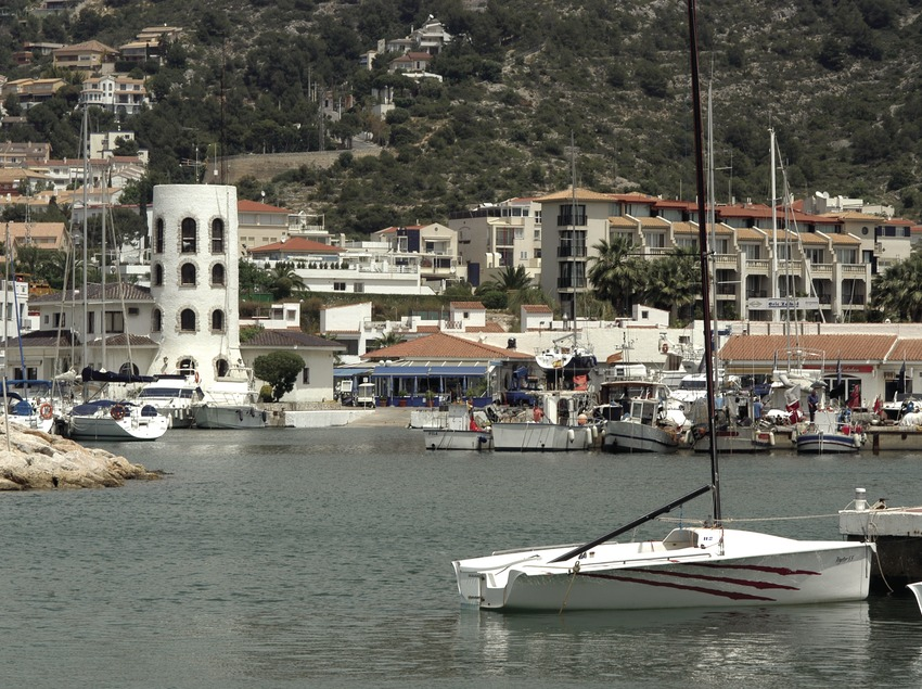 General view of the Aiguadolç marina  (Marc Ripol)
