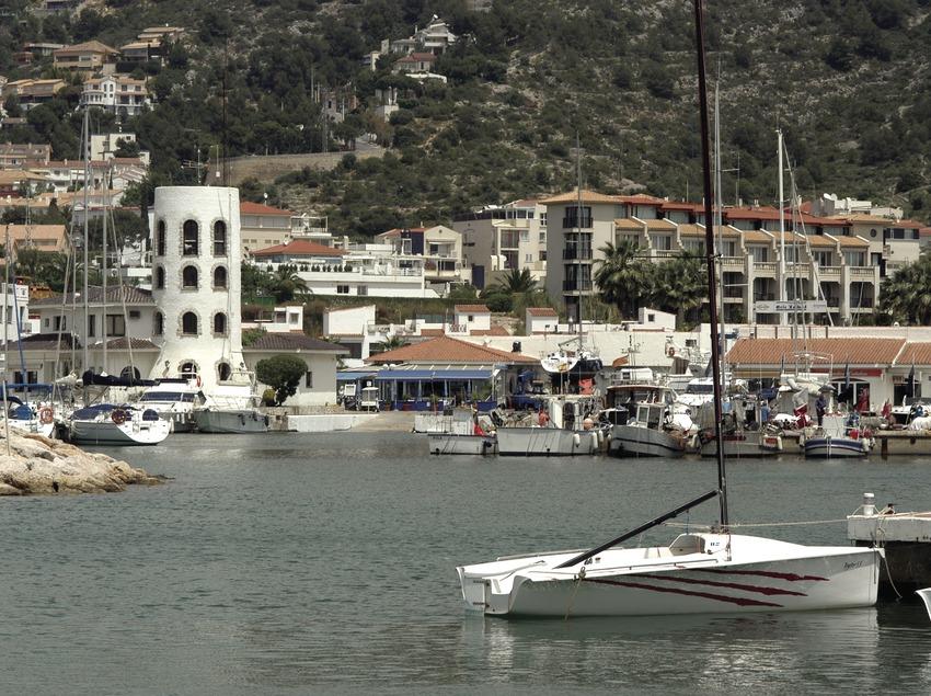 Vista general del Port Esportiu d'Aiguadolç  (Marc Ripol)
