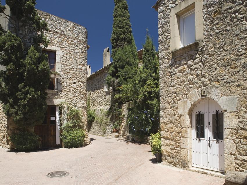 Centre històric de Sant Martí d'Empúries.