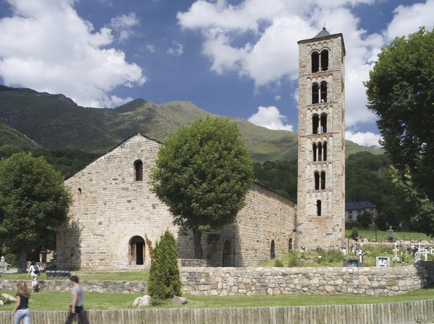 Die Kirche Sant Cristòfol Climent de Taüll.  (Nano Cañas)
