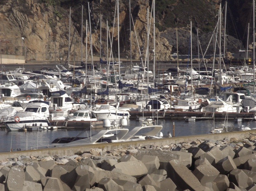 Espigó del Port Esportiu Marina de Palamós  (Marc Ripol)