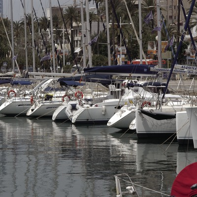Vista general del port de Vilanova i la Geltrú  (Marc Ripol)