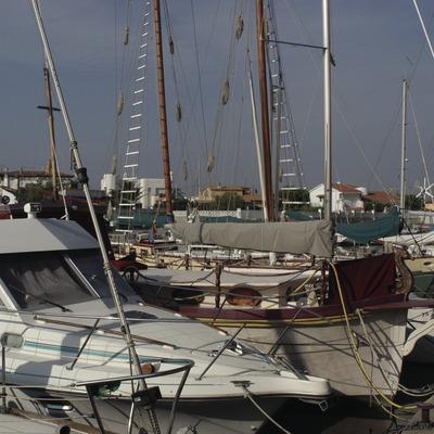 Embarcaciones amarradas en el puerto deportivo Canals de Santa Margarida  (Marc Ripol)
