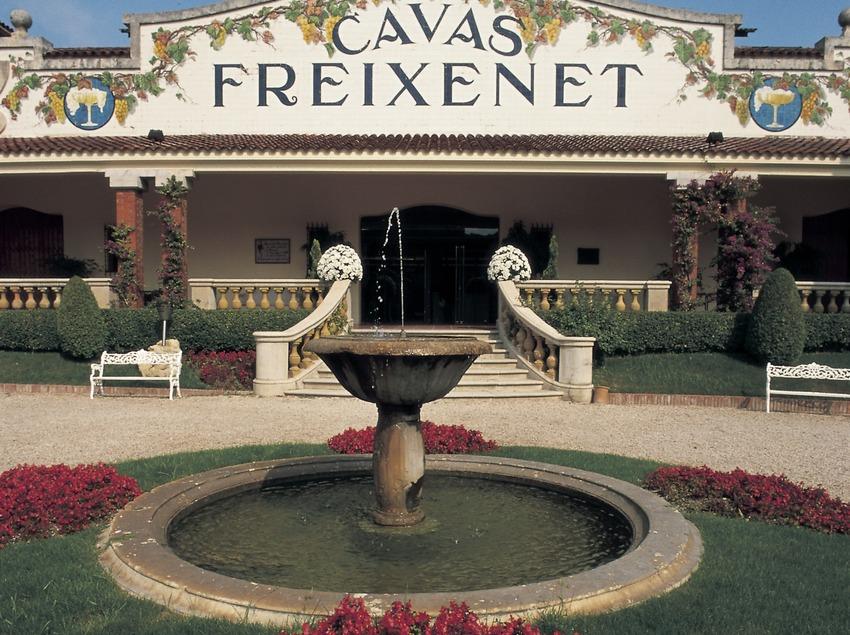 Exterior of the Freixenet wineries