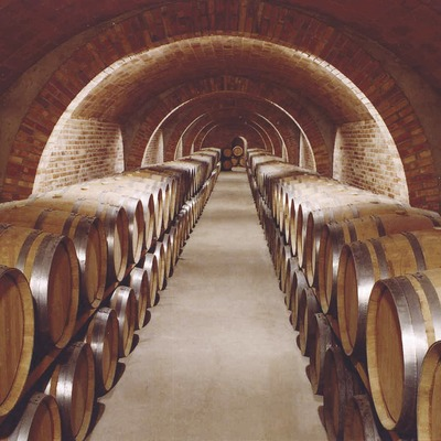 Interior de les caves Codorniu
