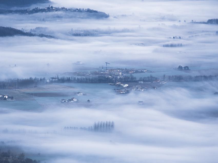 Boira sobre la Vall d'en Bas  (Kim Castells)