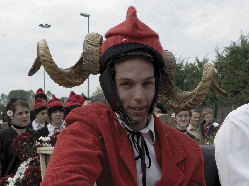 El Cornut de la fiesta del Arbre de Maig  (Oriol Llauradó)