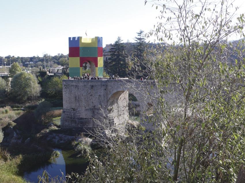 Medieval bridge of Besalú  (Kim Castells)