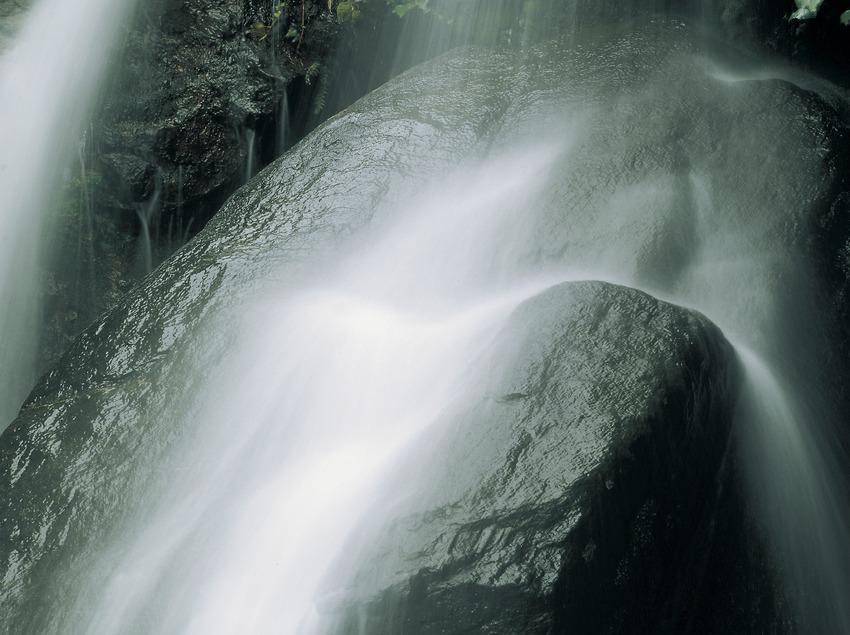 Salto de agua en el Parque Natural del Montseny  (Kim Castells)