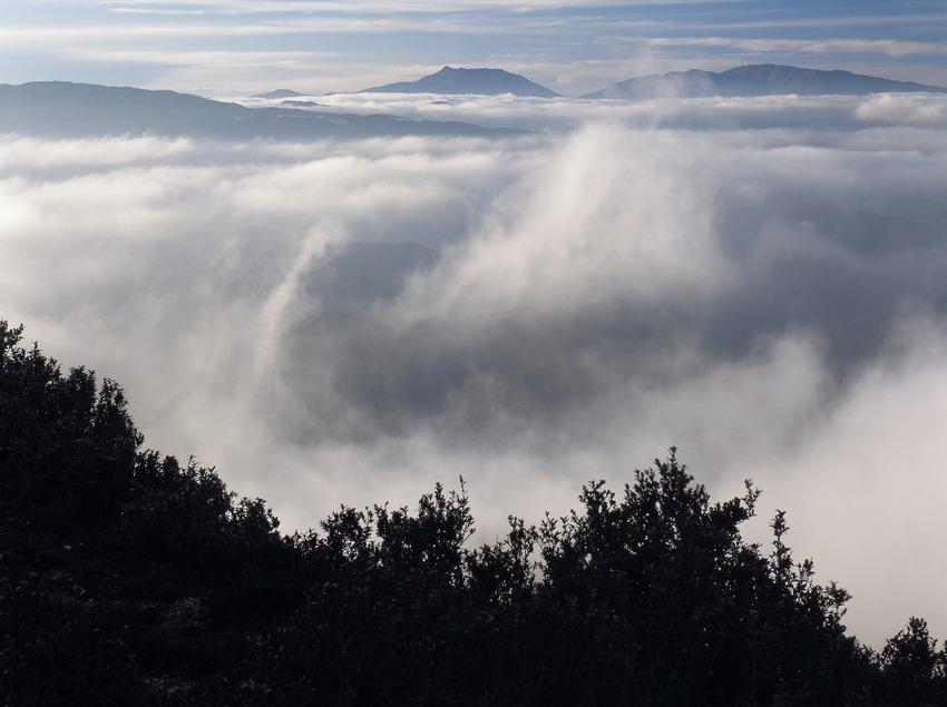 Brouillard sur la sierra del Montseny  (Kim Castells)
