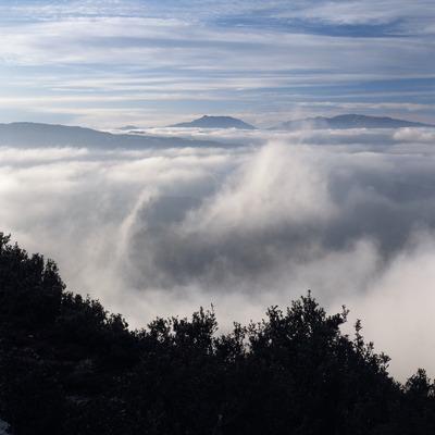 Niebla en la Sierra del Montseny  (Kim Castells)