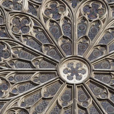 Rosassa de l'església de Santa Maria del Pi.  (Nano Cañas)
