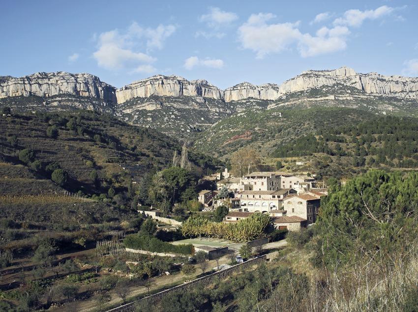 La cartoixa d'Scala Dei i el Parc Natural de la Serra de Montsant