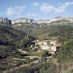 La cartuja de Scala Dei y el Parque Natural de la Sierra de Montsant
