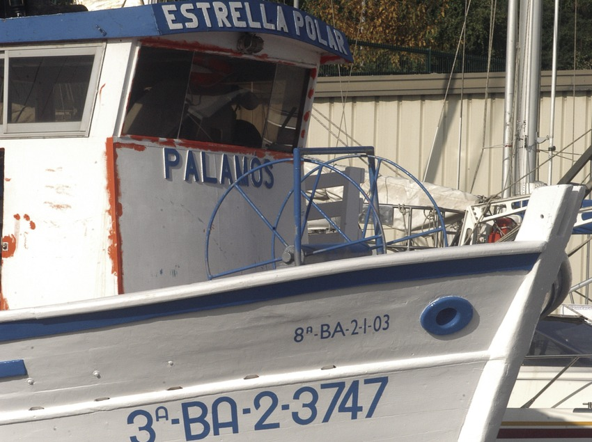 Embarcació de pesca al Port Esportiu Marina de Palamós  (Marc Ripol)