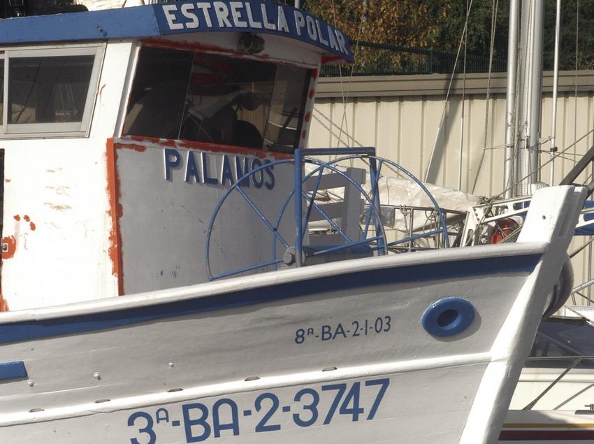 Embarcación de pesca en el puerto deportivo Marina de Palamós  (Marc Ripol)