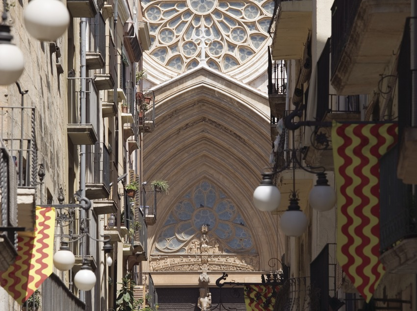 Portalada de la catedral de Santa Maria.  (Nano Cañas)
