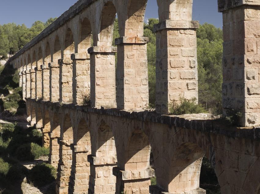 Aqüeducte romà de les Ferreres o Pont del Diable.  (Nano Cañas)