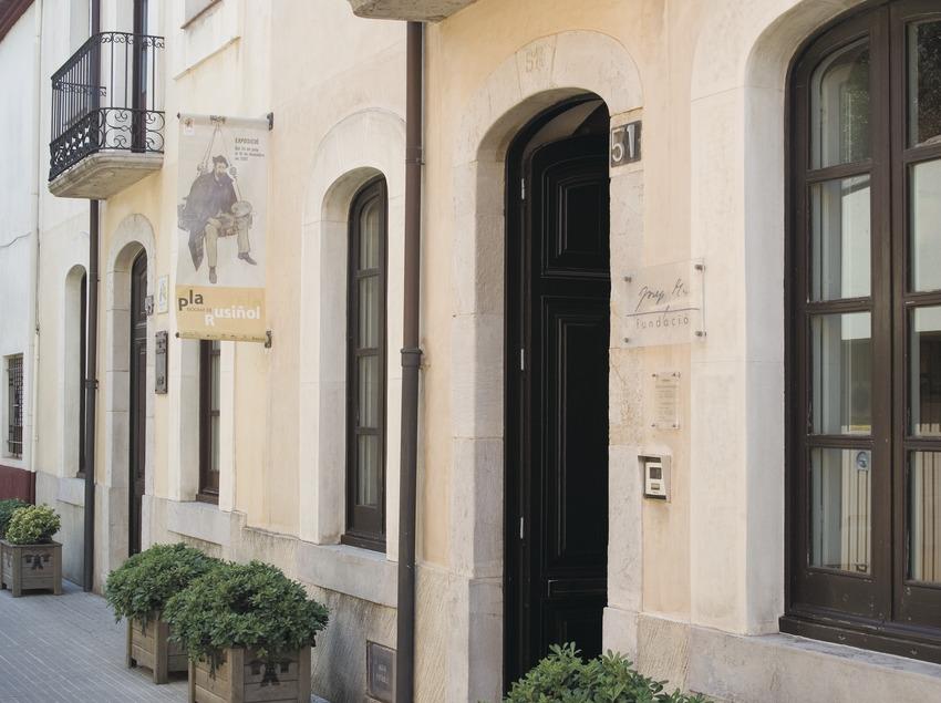 Façana de la Fundació Josep Pla  (Servicios Editoriales Georama)