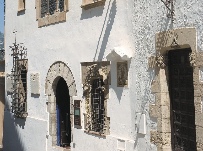 Fachada del Museo Cau Ferrat  (Servicios Editoriales Georama)