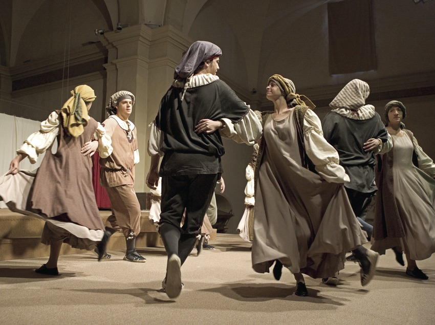 Performing the Sant Crist dance  (Oriol Llauradó)